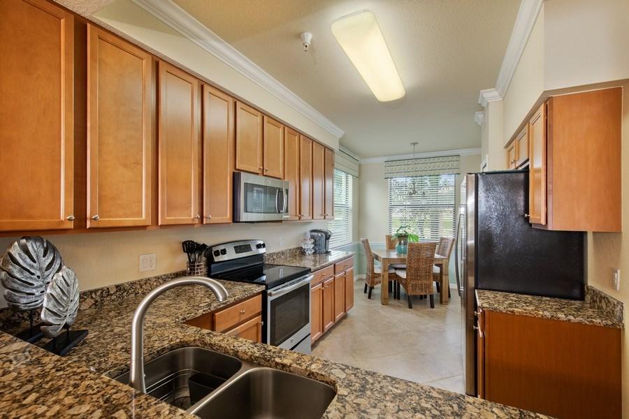 Real Estate Photography - 17921 Bonita National Blvd, 218, Bonita Springs,, FL, 34135 - Kitchen