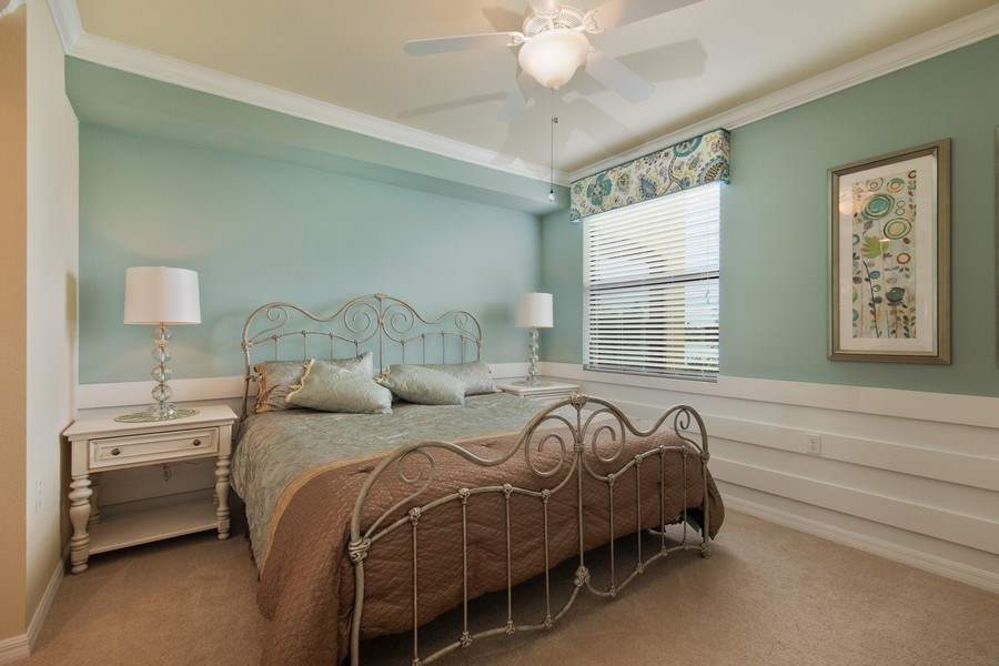 Real Estate Photography - 17921 Bonita National Blvd, 218, Bonita Springs,, FL, 34135 - Master Bedroom