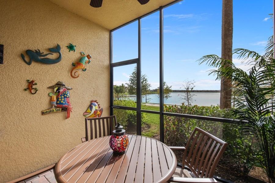Real Estate Photography - 17921 Bonita National Blvd, 218, Bonita Springs,, FL, 34135 - Lanai