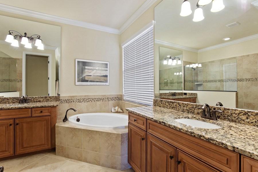 Real Estate Photography - 28549 Westmeath Ct, Bonita Springs, FL, 34135 - Master Bathroom