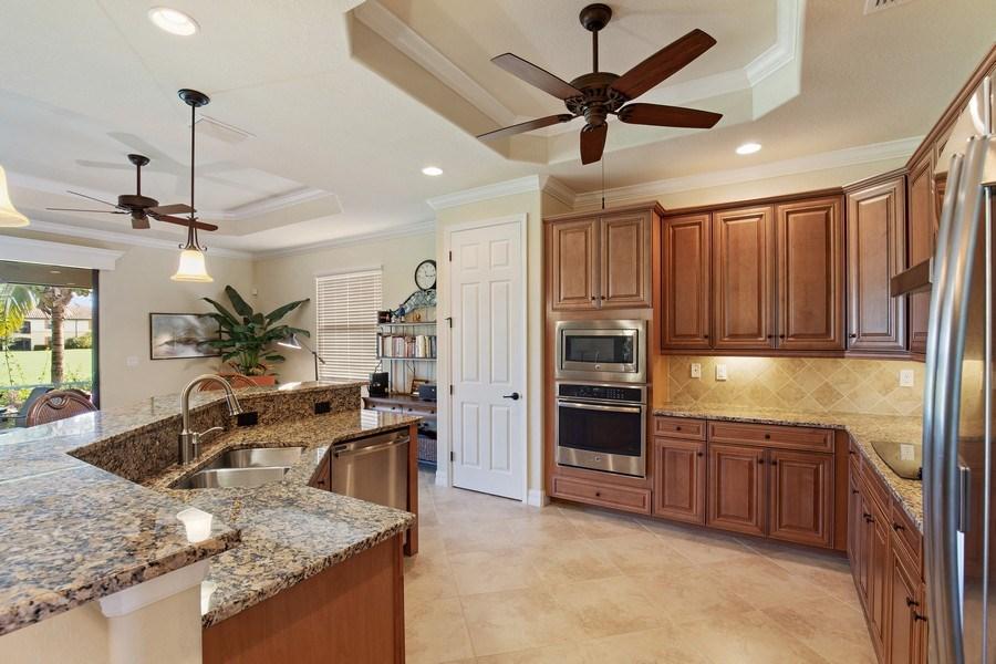 Real Estate Photography - 28549 Westmeath Ct, Bonita Springs, FL, 34135 - Kitchen