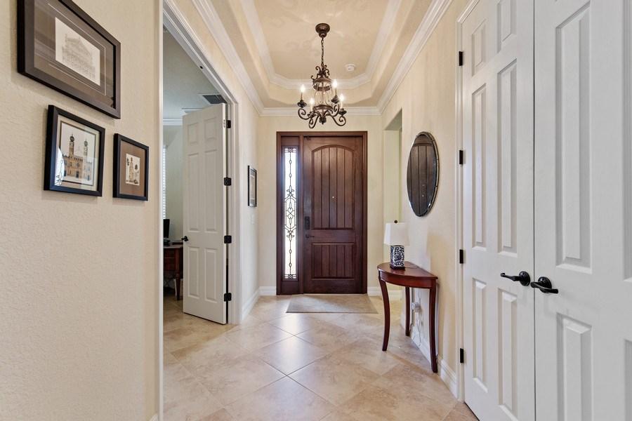 Real Estate Photography - 28549 Westmeath Ct, Bonita Springs, FL, 34135 - Foyer