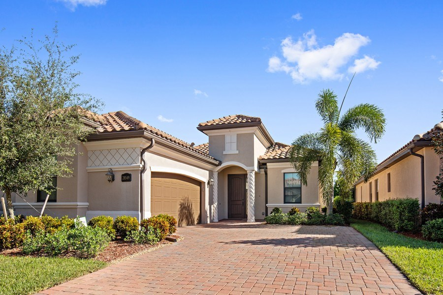 Real Estate Photography - 28549 Westmeath Ct, Bonita Springs, FL, 34135 - Front View