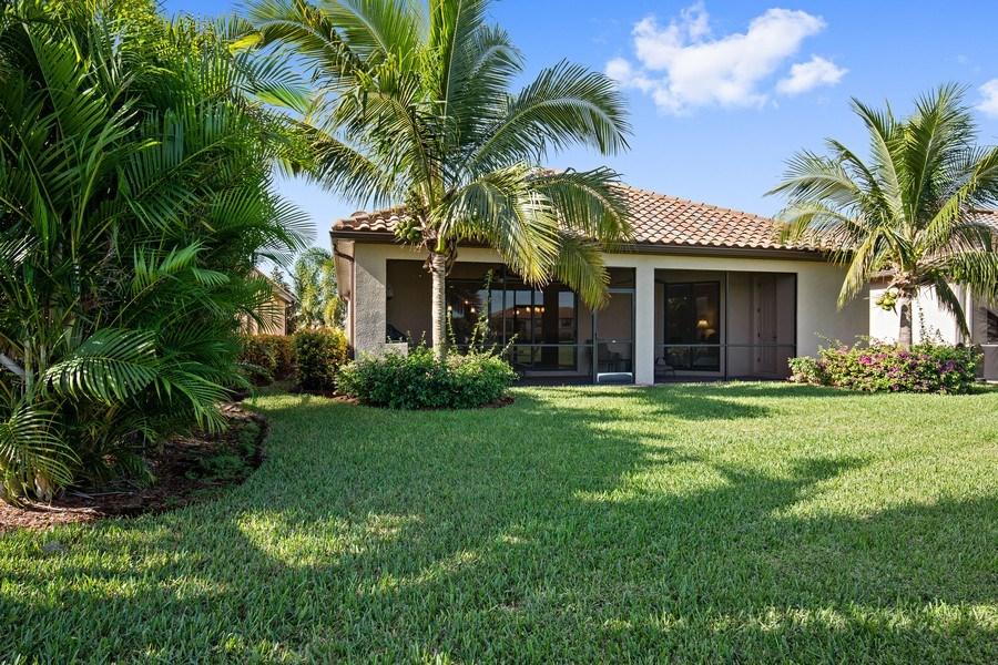 Real Estate Photography - 28549 Westmeath Ct, Bonita Springs, FL, 34135 - Rear View