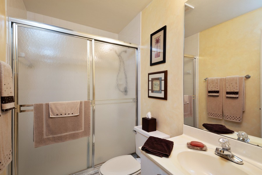 Real Estate Photography - 7008 Pelican Bay Blvd, H204, Naples, FL, 34108 - 2nd Bathroom