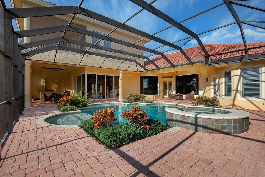 Real Estate Photography - 6710 Mossy Glen Dr, Fort Myers, FL, 33908 - Pool