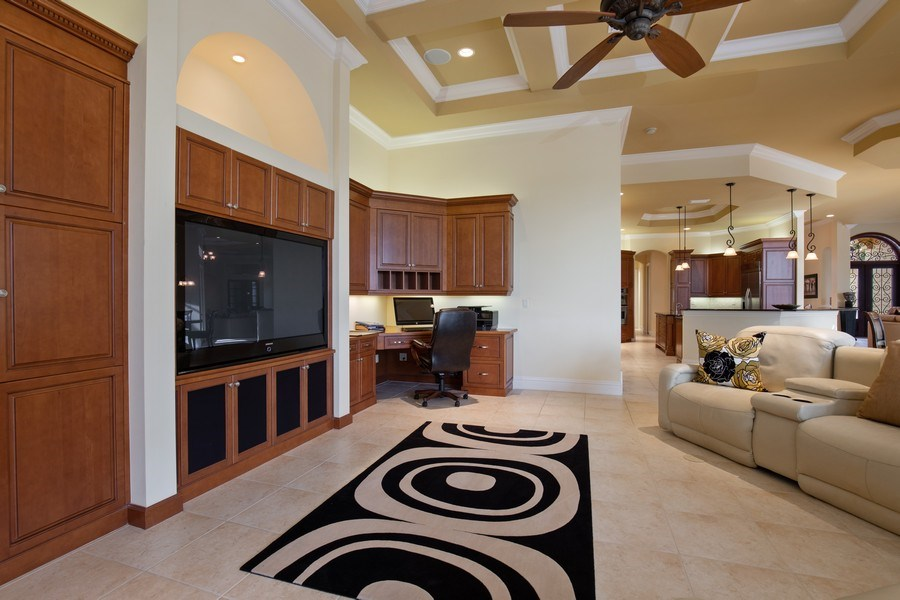 Real Estate Photography - 6710 Mossy Glen Dr, Fort Myers, FL, 33908 - Family Room