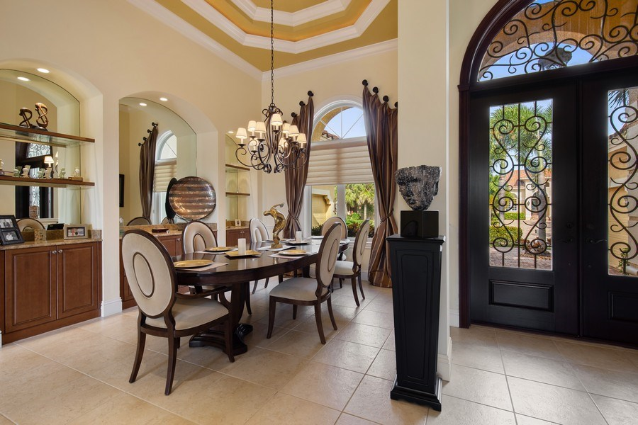 Real Estate Photography - 6710 Mossy Glen Dr, Fort Myers, FL, 33908 - Dining Room