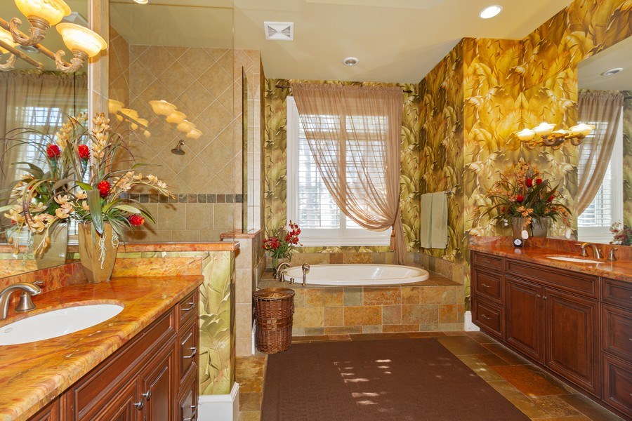 Real Estate Photography - 375 Wedge Drive, Naples,, FL, 34103 - Master Bathroom