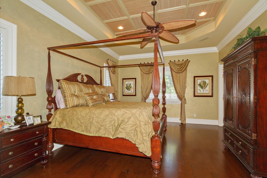 Real Estate Photography - 375 Wedge Drive, Naples,, FL, 34103 - Master Bedroom