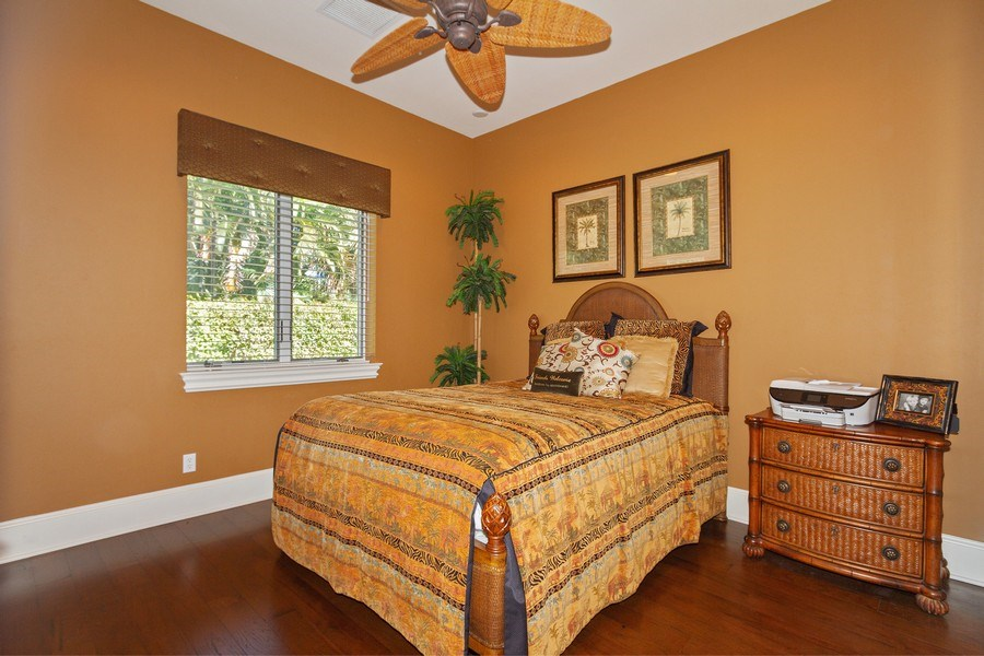 Real Estate Photography - 375 Wedge Drive, Naples,, FL, 34103 - Bedroom