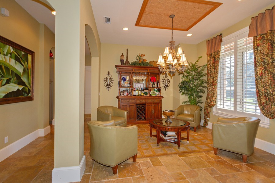 Real Estate Photography - 375 Wedge Drive, Naples,, FL, 34103 - Dining Room