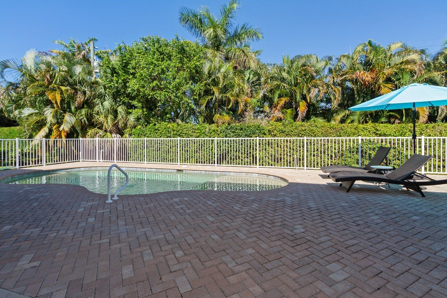 Real Estate Photography - 375 Wedge Drive, Naples,, FL, 34103 - Pool