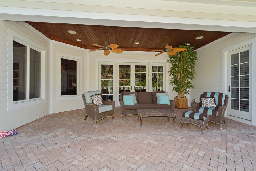 Real Estate Photography - 375 Wedge Drive, Naples,, FL, 34103 - Patio