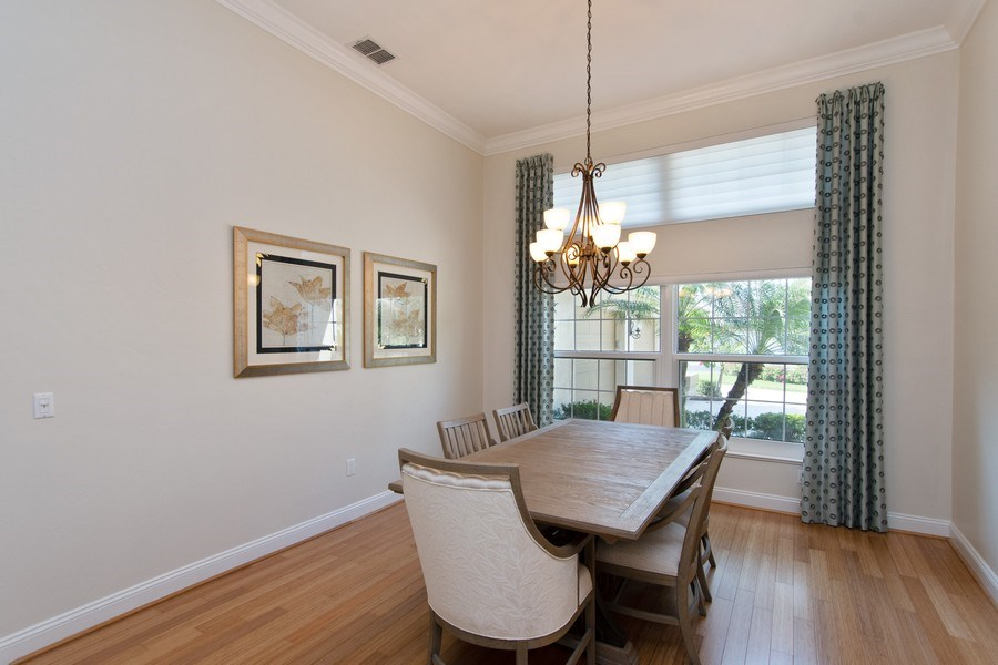 Real Estate Photography - 20259 Puma Trail, Estero, FL, 33928 - Dining Room