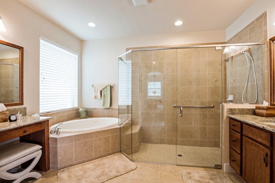 Real Estate Photography - 28556 San Amaro, Naples, FL, 34103 - Master Bathroom