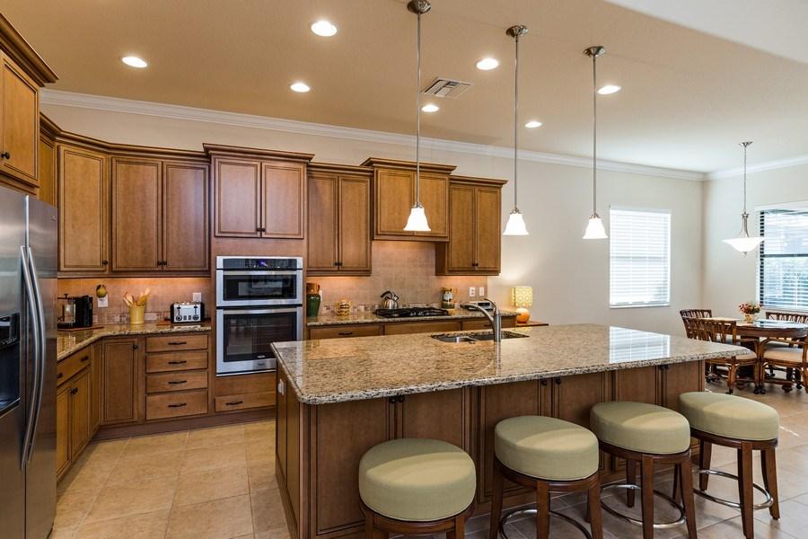 Real Estate Photography - 28556 San Amaro, Naples, FL, 34103 - Kitchen