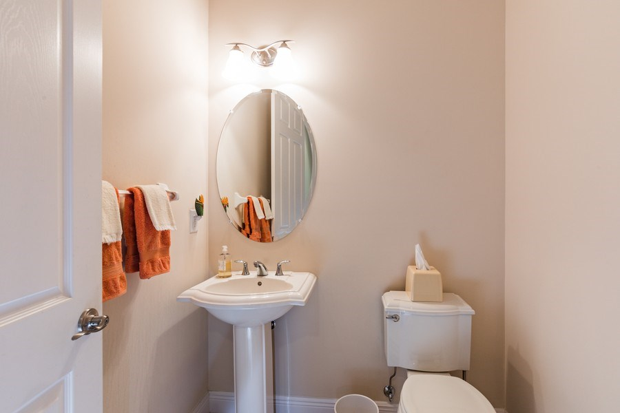 Real Estate Photography - 28556 San Amaro, Naples, FL, 34103 - Powder Room