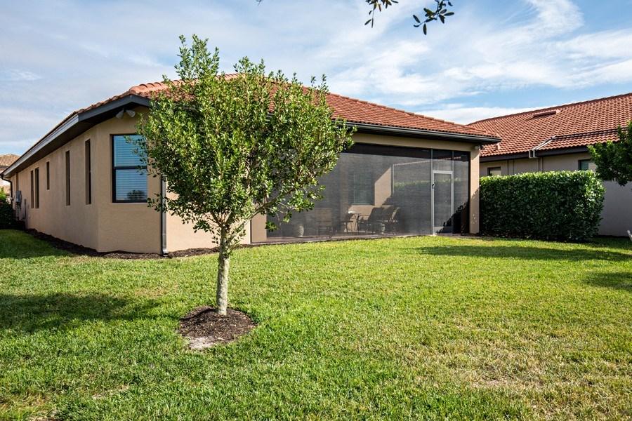 Real Estate Photography - 28556 San Amaro, Naples, FL, 34103 - Back Yard