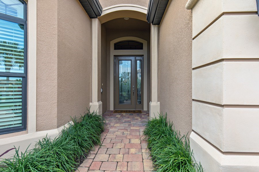 Real Estate Photography - 28556 San Amaro, Naples, FL, 34103 - Entrance