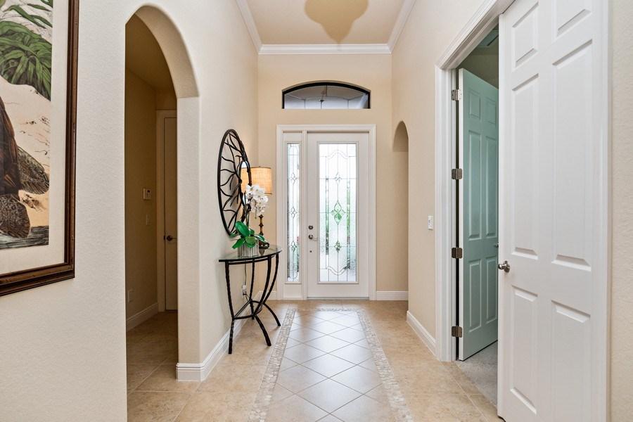 Real Estate Photography - 28556 San Amaro, Naples, FL, 34103 - Foyer