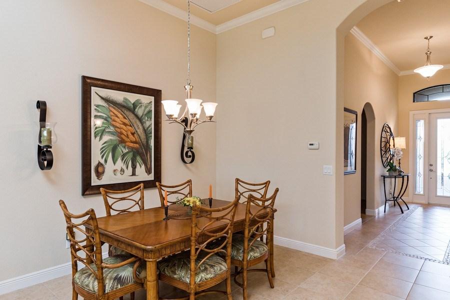 Real Estate Photography - 28556 San Amaro, Naples, FL, 34103 - Dining Area