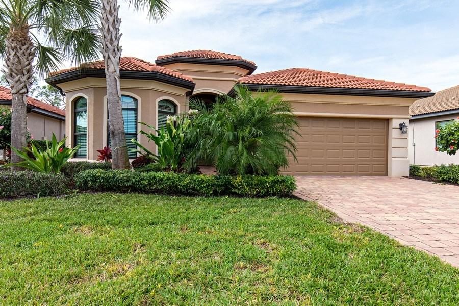 Real Estate Photography - 28556 San Amaro, Naples, FL, 34103 - Front View