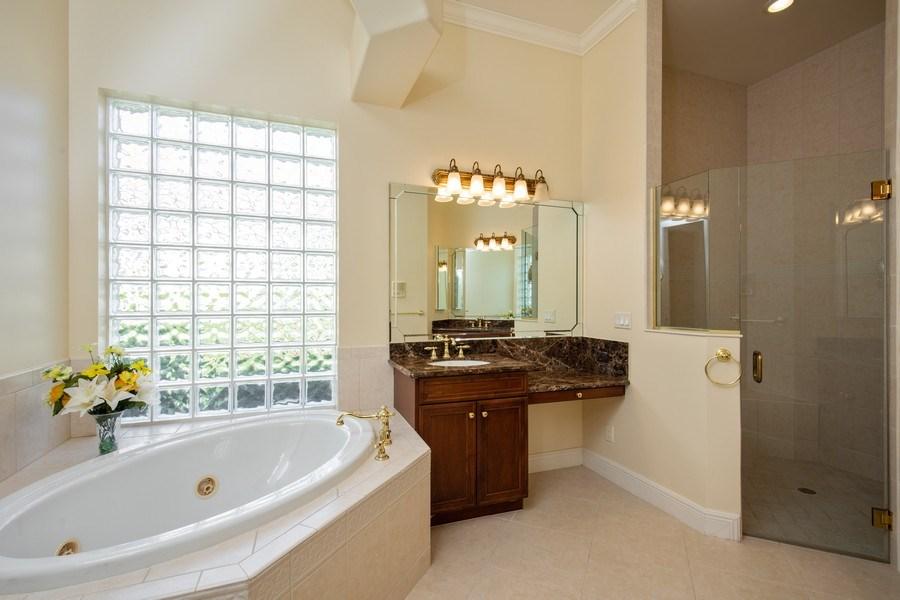 Real Estate Photography - 5799 Hammock Isles Dr, Naples, FL, 34119 - Master Bathroom