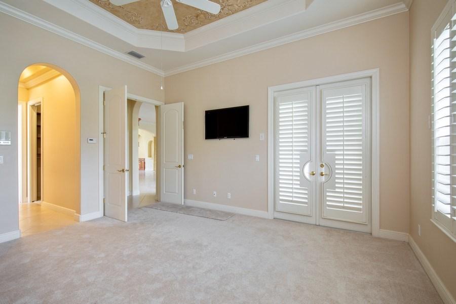 Real Estate Photography - 5799 Hammock Isles Dr, Naples, FL, 34119 - Master Bedroom