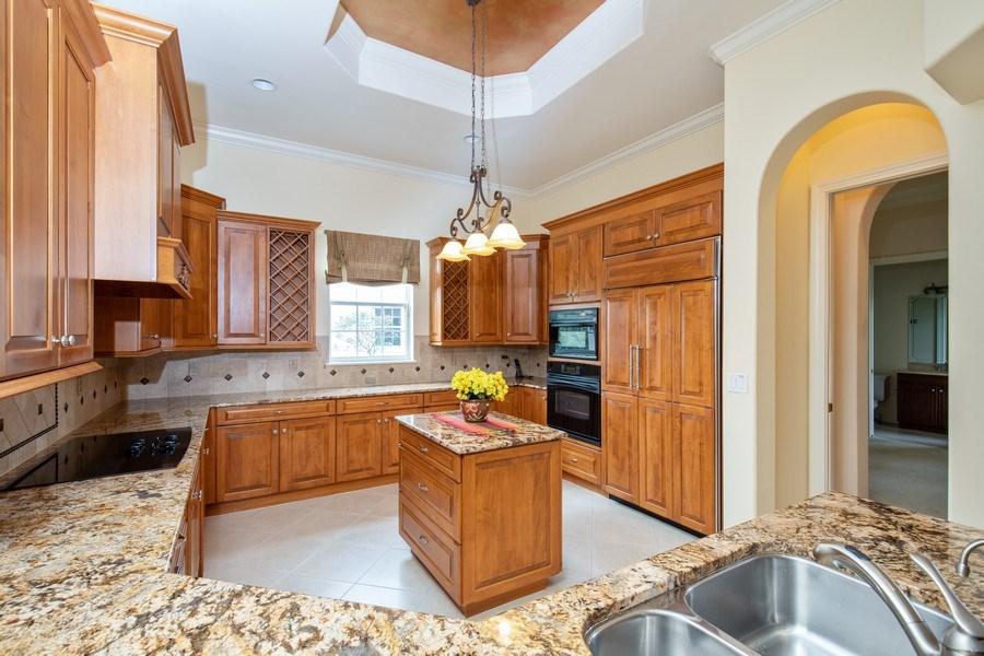 Real Estate Photography - 5799 Hammock Isles Dr, Naples, FL, 34119 - Kitchen