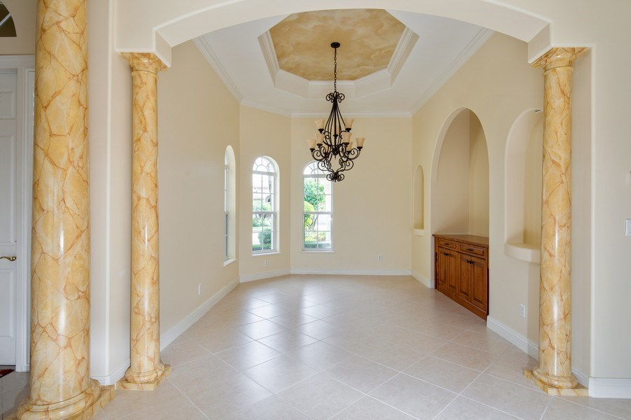 Real Estate Photography - 5799 Hammock Isles Dr, Naples, FL, 34119 - Dining Room