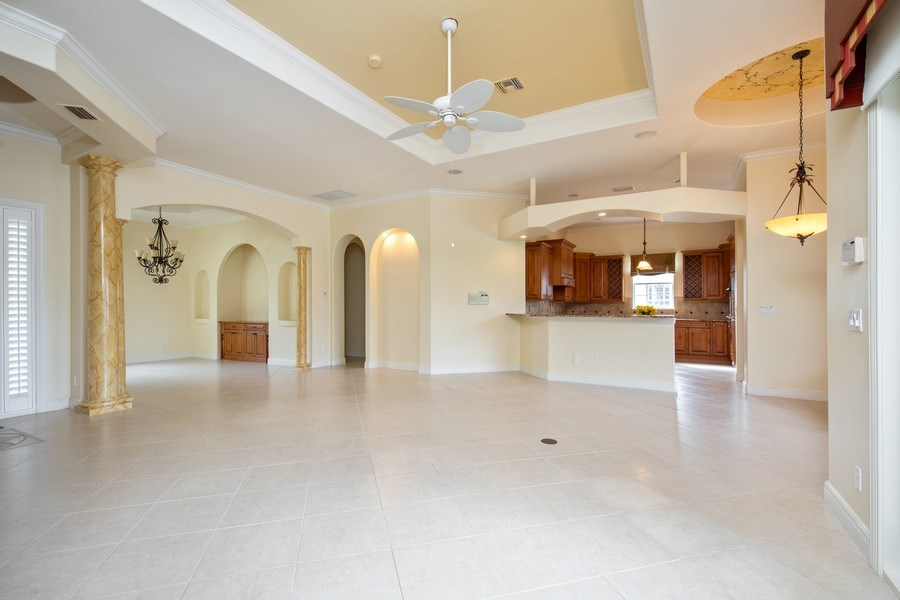 Real Estate Photography - 5799 Hammock Isles Dr, Naples, FL, 34119 - Great room