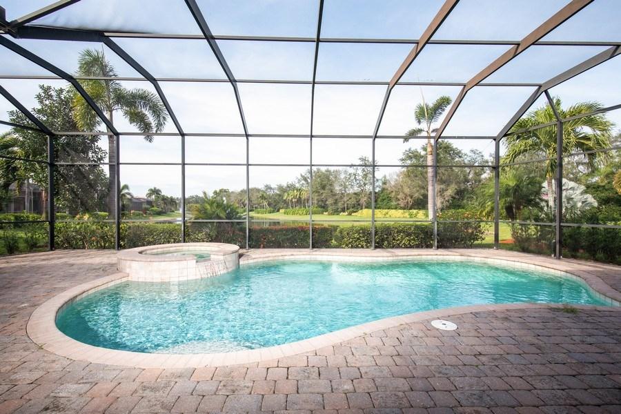 Real Estate Photography - 5799 Hammock Isles Dr, Naples, FL, 34119 - Pool/Spa