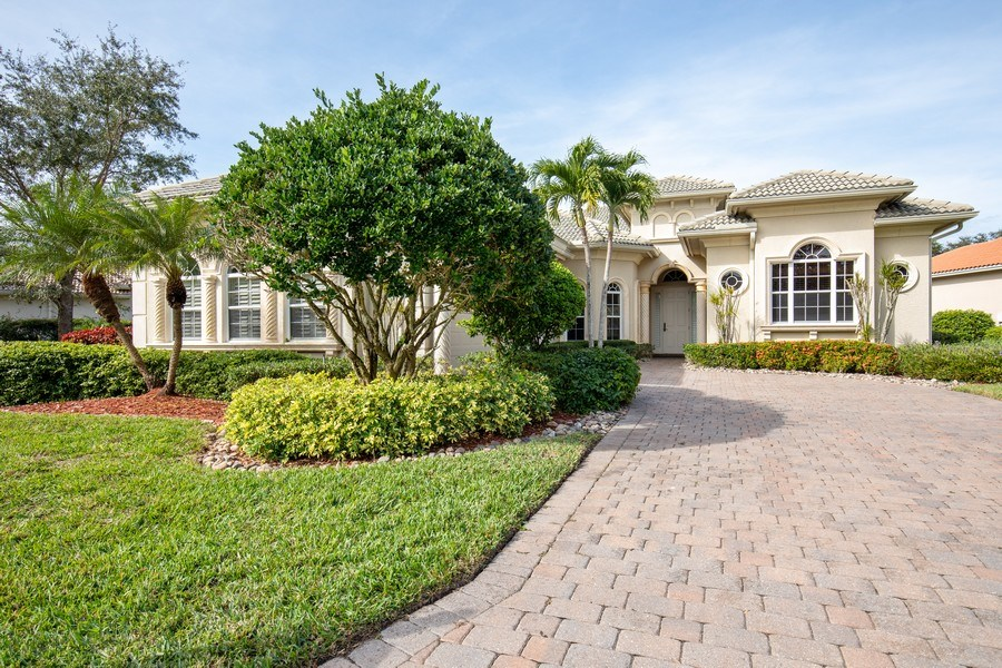 Real Estate Photography - 5799 Hammock Isles Dr, Naples, FL, 34119 - Front View