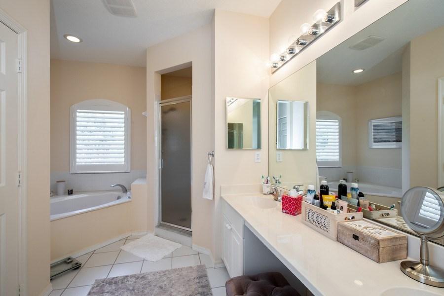 Real Estate Photography - 9060 Palmas Grandes Blvd. #201, Bonita Springs, FL, 34135 - Master Bathroom