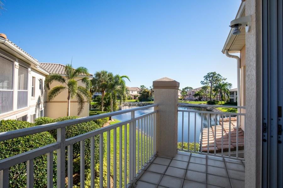 Real Estate Photography - 9060 Palmas Grandes Blvd. #201, Bonita Springs, FL, 34135 - Balcony