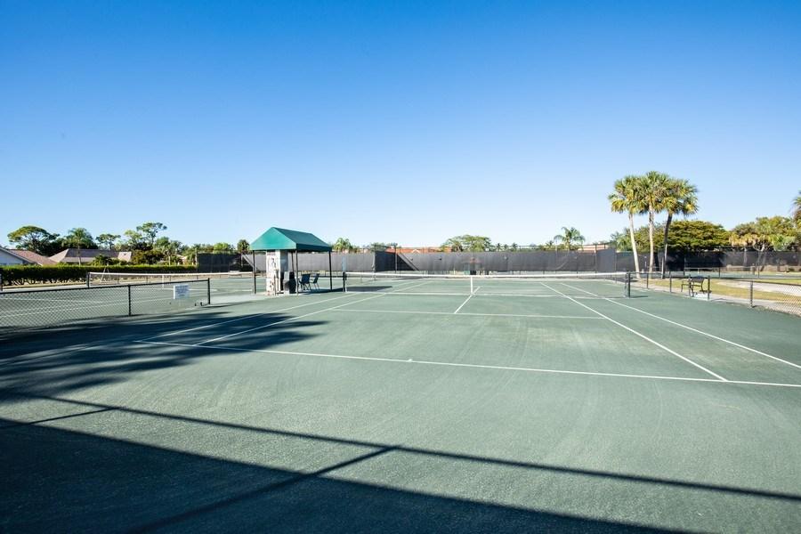 Real Estate Photography - 9060 Palmas Grandes Blvd. #201, Bonita Springs, FL, 34135 - Tennis Court