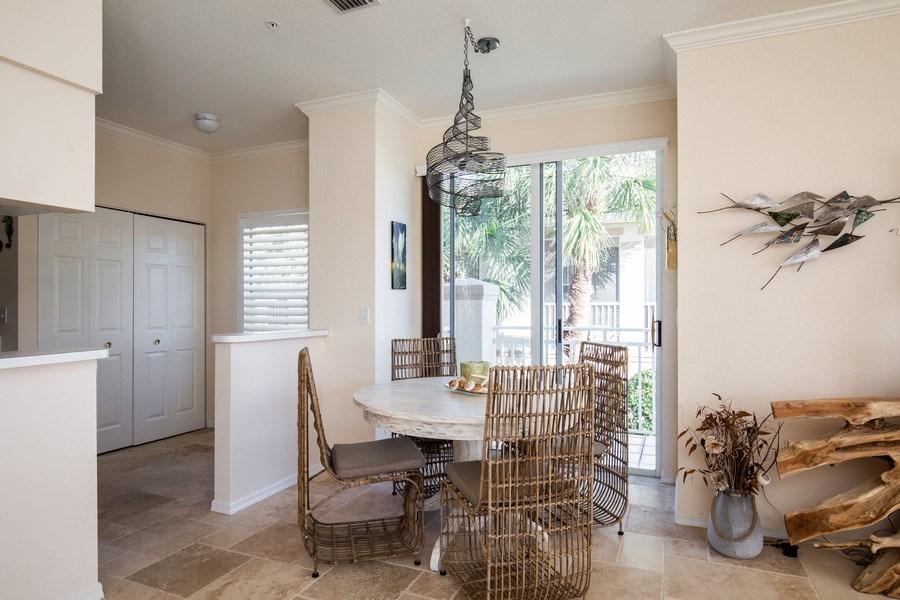 Real Estate Photography - 9060 Palmas Grandes Blvd. #201, Bonita Springs, FL, 34135 - Dining Area