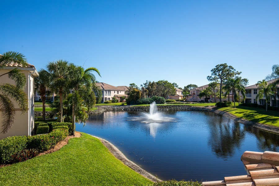Real Estate Photography - 9060 Palmas Grandes Blvd. #201, Bonita Springs, FL, 34135 - Lake View