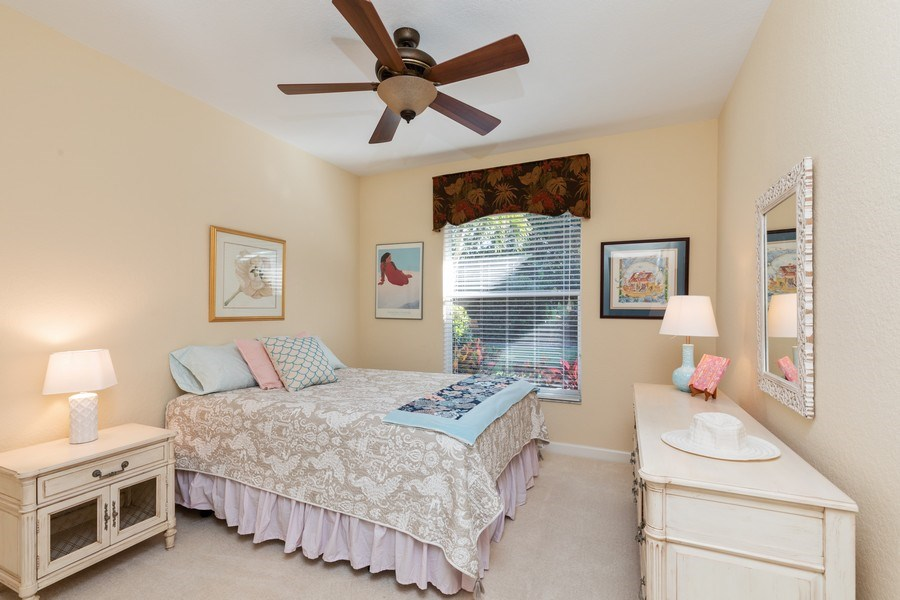 Real Estate Photography - 2077 Imperial Circle, Naples,, FL, 34110 - 2nd Bedroom