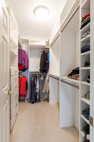 Real Estate Photography - 2077 Imperial Circle, Naples,, FL, 34110 - Closet