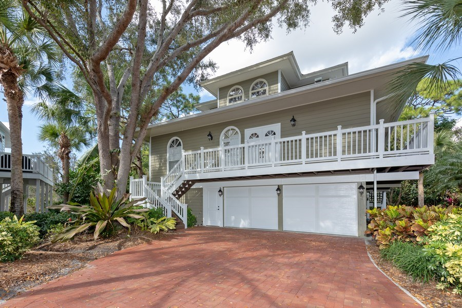 Real Estate Photography - 3788 Cracker Way, Bonita Springs`, FL, 34134 - Front View