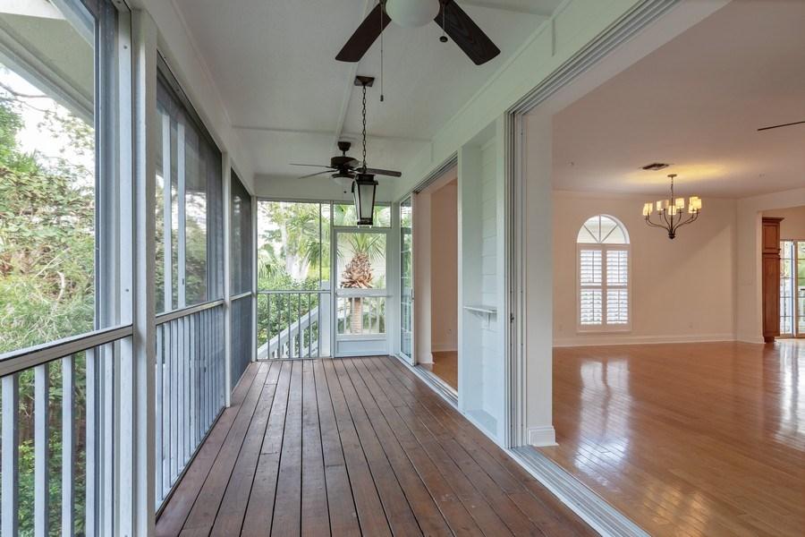 Real Estate Photography - 3788 Cracker Way, Bonita Springs`, FL, 34134 - Balcony