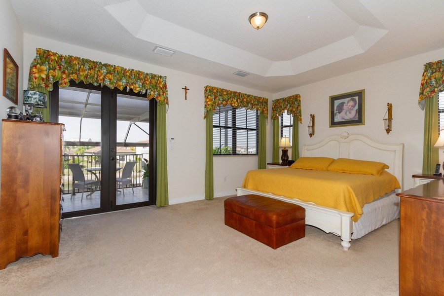Real Estate Photography - 5055 Milano Street, Ave Maria, FL, 34142 - Master Bedroom