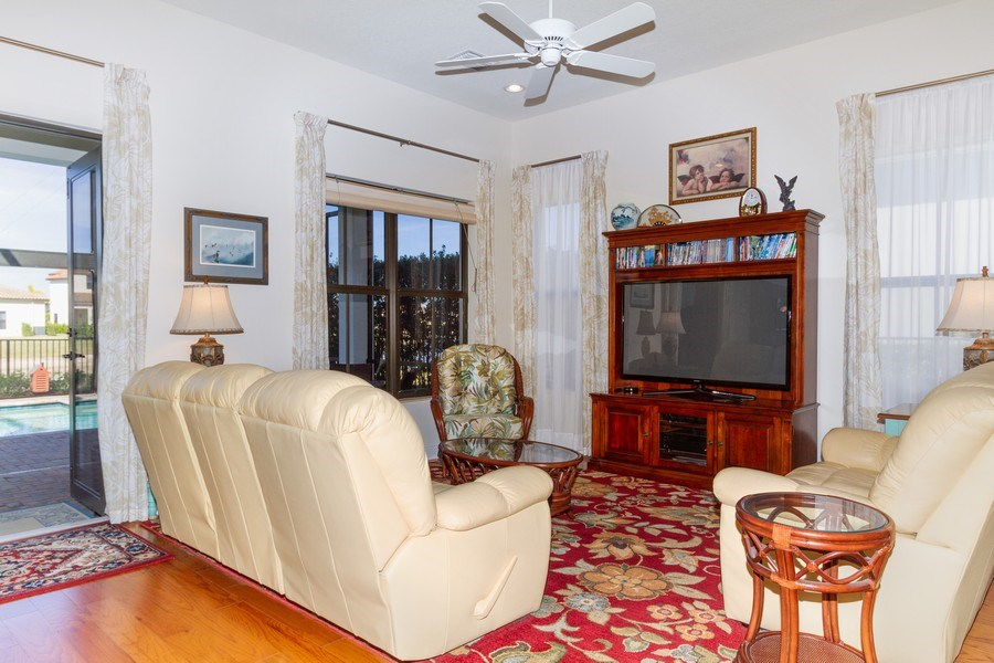 Real Estate Photography - 5055 Milano Street, Ave Maria, FL, 34142 - Living Room