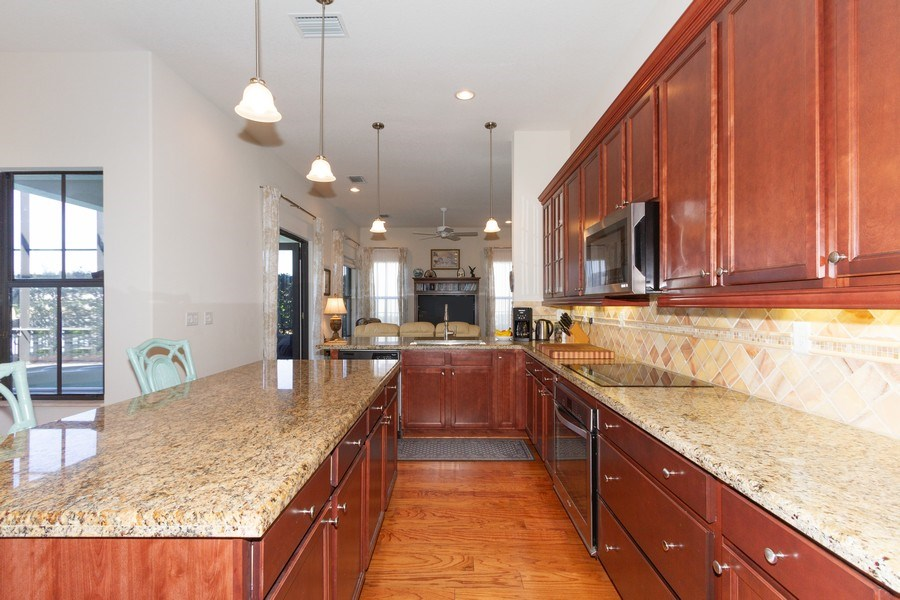 Real Estate Photography - 5055 Milano Street, Ave Maria, FL, 34142 - Kitchen