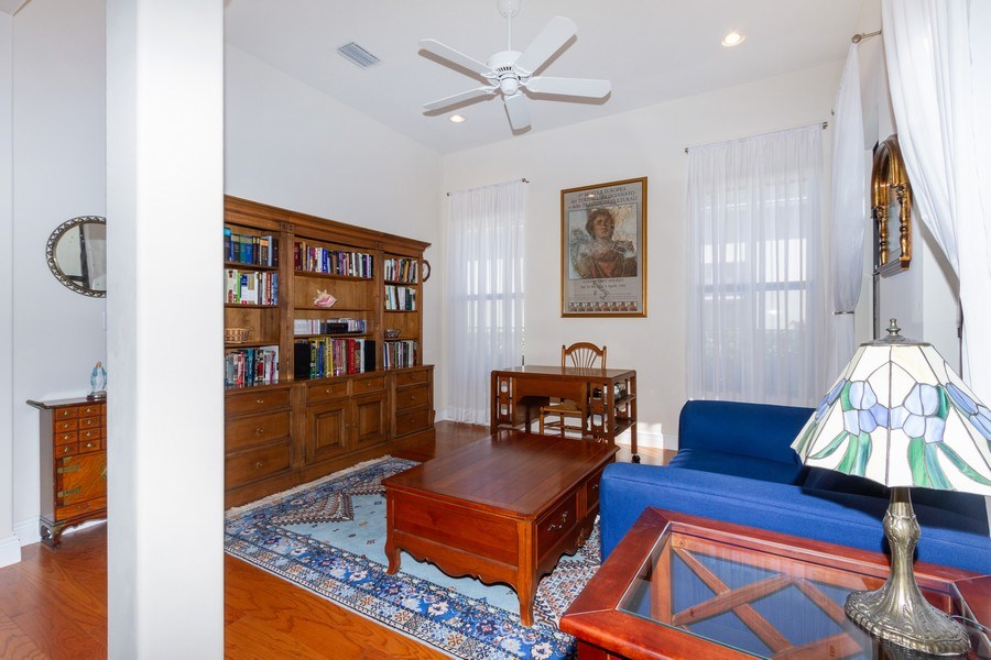 Real Estate Photography - 5055 Milano Street, Ave Maria, FL, 34142 - Family Room