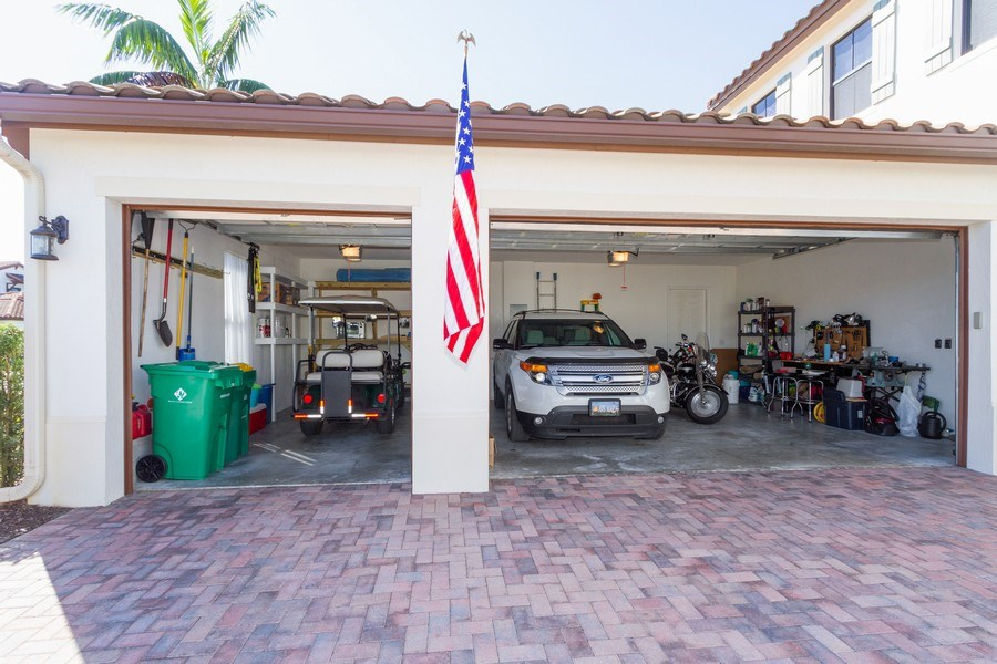Real Estate Photography - 5055 Milano Street, Ave Maria, FL, 34142 - Garage