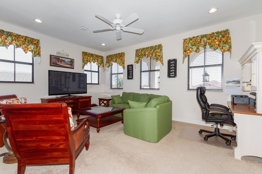 Real Estate Photography - 5055 Milano Street, Ave Maria, FL, 34142 - Loft