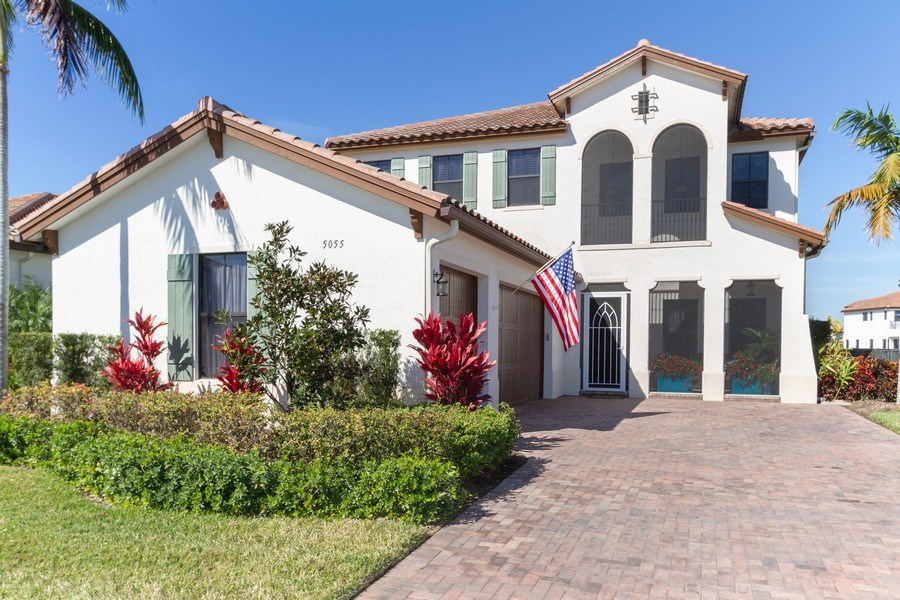 Real Estate Photography - 5055 Milano Street, Ave Maria, FL, 34142 - Front View